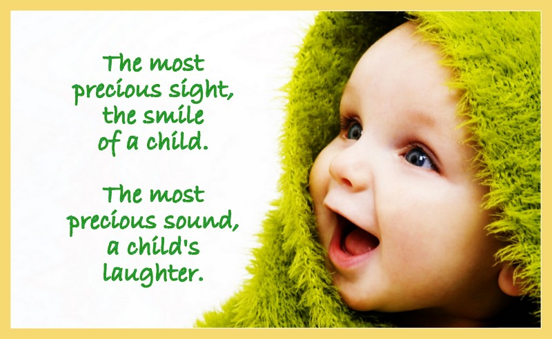 quotes for cute babies smile