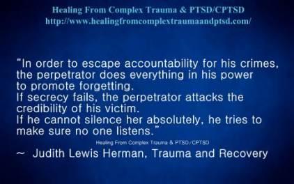 Judith herman trauma and recovery