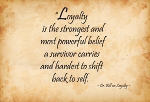 Loyalty belief