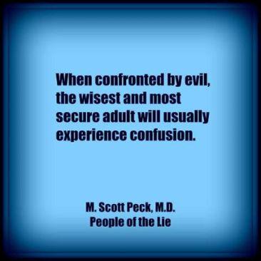 evil confusion