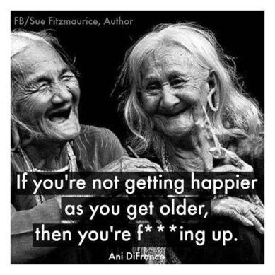 happy older