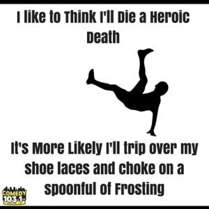 heroic death