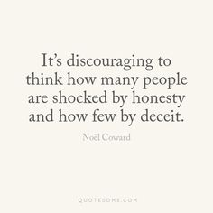 honesty lies