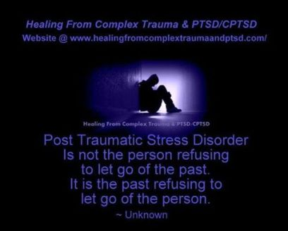 PTSD not letting go of person