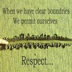 boundaries respect