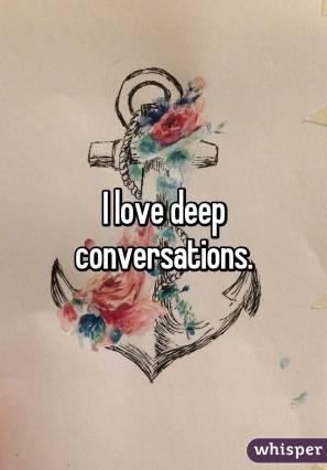 deep convo