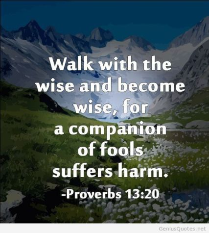 walk away from fools
