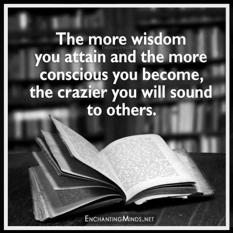 wisdom and consciousness