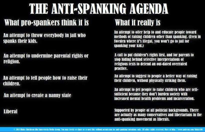 antispanking what it really is