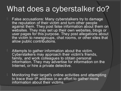 cyber stalking 6