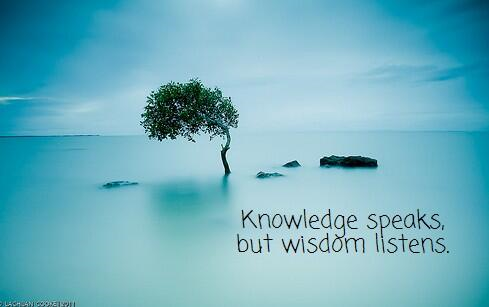 knowledge speaks