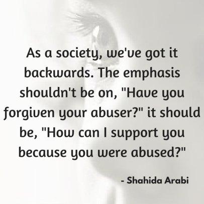 shahida forgiveness BS