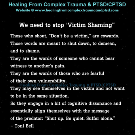 victim shaming