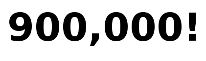 nine hundred thousand