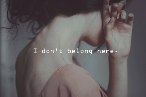 don;t belong here