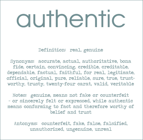 authentic 2