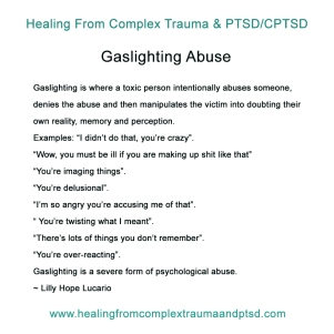 gaslighting abuse