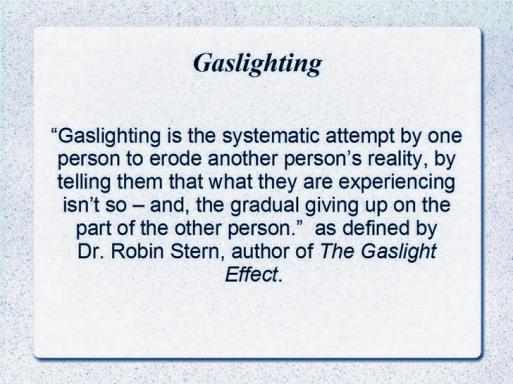 gaslighting 1