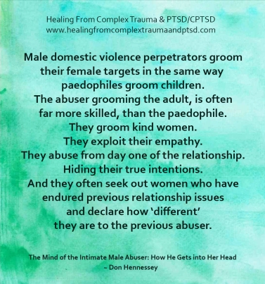 male dv perps groom and abuse from day one don hennessey